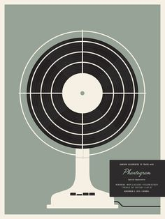 Barsuk 15 - Phantogram Poster by Jason Munn