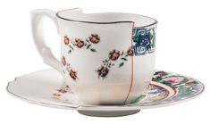 Hybrid Tamara Kaffeetasse Set aus Kaffeetasse + Untertasse – Seletti