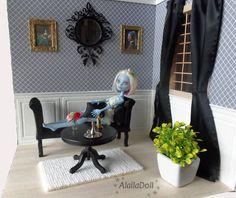 "Handmade Diorama ""BAROQUE"" for 30 cm dolls like: Pullip, Blythe, Monster High, Momoko, Dal, Barbie"