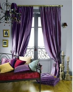 COLOUR 4 2014 'ORCHID' + SHADES/HUES OF IN INTERIOR DESIGN/ HAIR+MAKE-UP/NAILS/FURNITURE/DECOR + MORE...