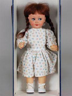 Schildkröt-Puppe, gemarkt 350/49, 1950er Jahre