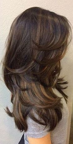 20 Ways To Shine with Your Amazing Long Hairstyle long Hairstyles Haircuts For Long Hair With Layers, Long Layered Haircuts, Long Hair Cuts, Straight Hairstyles, Long Hair Short Layers, Medium Hair Styles, Curly Hair Styles, Balayage Hair, Hair Trends