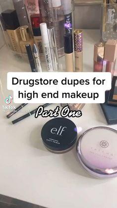 Drugstore Makeup Dupes, Lipstick Dupes, Makeup Swatches, Eyebrow Makeup, Skin Makeup, Eyeshadow Makeup, Makeup To Buy, Makeup Shop, Best Makeup Products