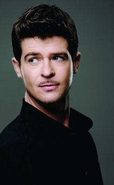 Robin Thicke. Blurred Lines is my jam right now. Then again, so is every song he sings.