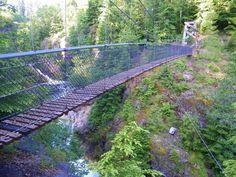 10. Lava Canyon Bridge