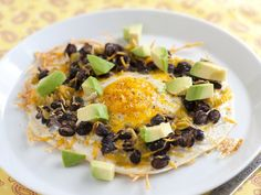 #Egg and Black Bean #Tostadas