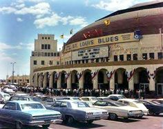 St. Louis Blues Arena home of the barn burners