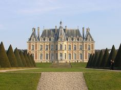 Château de Sceaux ~ Sceaux ~ Hauts-de-Seine ~ France ~ The Château is in the country not far from Paris.  Located in a park laid out by André Le Nôtre, it houses the Musée de l'Île-de-France. The former château was built for Jean-Baptiste Colbert, Louis XIV's minister of finance, who purchased the domaine in 1670.  The present château, designed to evoke the style of Louis XIII, dates from the Second Empire.