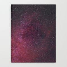Pink Star Galaxy Notebook by newburydesigns Galaxy Notebook, Pink Stars, Notebooks, Painting, Art, Art Background, Painting Art, Kunst, Notebook