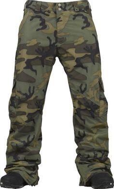 Burton Cargo Snowboard Pants - Highland Camo