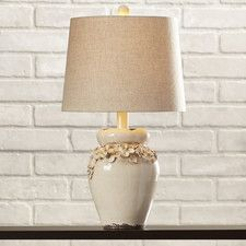 """Chamberlin 25"""" H Table Lamp with Empire Shade"""