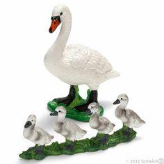 Schleich Swans