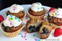 Zdravé muffiny z kokosovej múky - FitRecepty