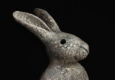 Click to Close Hare, Rabbits, Polymer Clay, Sculptures, Creatures, Ceramics, Texture, Gallery, Crafts