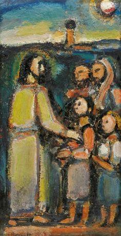 Georges Rouault, Christ et Enfants