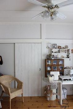 ふすまの大きな扉もべニア板でリメイクDIY♪賃貸でもタッカーを使えば理想に近づけます LIMIA (リミア)