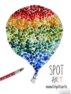 emmalilyallsorts: A little bit of Spot Art-love this, can't wait for the next raining day to do this with my kids!