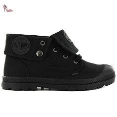 Palladium Mono Chrome, Sneakers Basses Mixte Adulte, Noir (Black 001), 44 EU