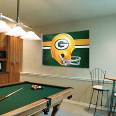 Green Bay Packers WinCraft 3' x 5' Retro Helmet One-Sided Flag