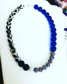 Colorful burst of beauty! Custom design! Statement Jewelry, Lovers Art, Wearable Art, Custom Design, Jewelry Design, Beaded Necklace, Colorful, Beauty, Fashion