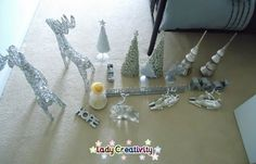 ★ Silver decorations to place them throughout the house