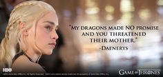 Don't Fuck With the Mother of Dragons!
