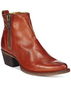 Frye Sacha Side Zip Moto Booties - Boots - Shoes - Macy's