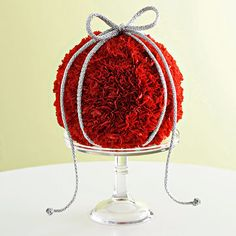 Let Your Spirit Bloom  This easy-to-make ornament uses a florist's foam ball and carnations to add a touch of elegance and fresh fragrance.