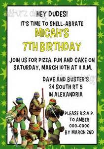 tmnt invitations free ideas - - Yahoo Image Search Results