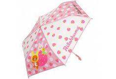 "San-x Rilakkuma Fold Umbrella DIA. 37""3/4 96cm Strawberry"