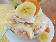 The Country Cook: Picnic Banana Pudding