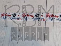Guide Me Ribbon {{ White }} by RoyalBowMakerSupply on Etsy
