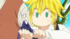 Meliodas checking Princess Elizabeth's...'condition'. Seven Deadly Sins | Nanatsu no Taizai