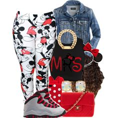 Mrs.Minnie, created by mickey-d-that-trill-bishh on Polyvore