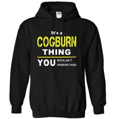 awesome COGBURN Name Tshirt - TEAM COGBURN, LIFETIME MEMBER