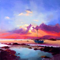 Contemporary master of light in paint -- Aspects of Light I by Peter Wileman