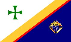 [Knights of Columbus flag] New Haven Connecticut, Knights Of Columbus, Inspirational Photos, Christopher Columbus, Michael J, Flags, Banners, Catholic, Tattoo Ideas