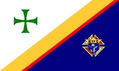 [Knights of Columbus flag]