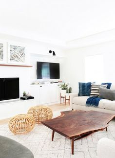 Lots of people aspire to make their home decor modern, but if you're not careful, modern can become cold, stale and uninteresting