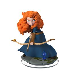 "Shea: Disney Infinity: Disney Originals Figure Edition) - Merida - Disney Interactive - Toys ""R"" Us Disney Pixar, Merida Disney, Walt Disney, Brave Merida, Brave Disney, Disney Toys, Brave Pixar, Pop Marvel, Disney Infinity Characters"