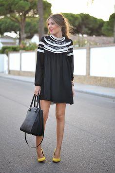 BLACK MAYTINA DRESS | Mi aventura con la moda