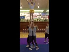 All girl stunts - YouTube