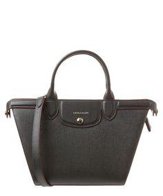 LONGCHAMP Longchamp Le Pliage Heritage Medium Leather Handbag'. #longchamp #bags #shoulder bags #hand bags #leather #lining #