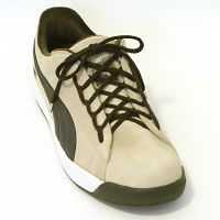 Lacing shoes -- it can be done in so many ways. (possibly also inspiration for other things to lace, e.g. bracelets)
