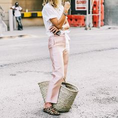 16 Under-$50 Buys That Every Fashion Girl Needs for Spring Pink silk pants