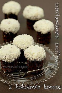 Marchewkowe muffinki z serowo - kokosową koroną -moje wypieki