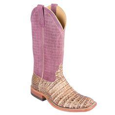 Anderson Bean Peanut Caiman Hornback Cowboy Boots