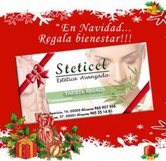 Nuevas ideas para variar la lista de regalos.   Personaliza tu regalo con tratamientos u otras combinaciones y también con cosmética profesional. Variedad de tratamientos y productos para escoger.  ¡SEGURO QUE ACIERTAS!  STETICEL, la belleza a tu alcance    www.esteticaenalicante.es