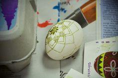Ukrainian egg decorating - LRDSC_9500 by Daily Nibbles, via Flickr