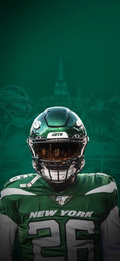 Lev Bell New York Jets, Esports, Football Helmets, Nfl, Nfl Football